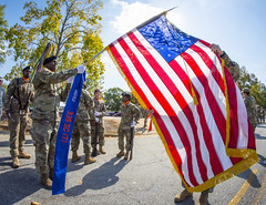 161015-A-ZU930-003 (ken_scar) Tags: usarmy armystrong 335thsignalcommand fortmcpherson briggenchristopherkemp brigadiergeneral changingofcommand general speech hooah kenscar armyphoto soldier generalofficer usar armyreserve usarc briggenpeterabosse americanflag oldglory thecolors casingthecolors colorguard honorguard