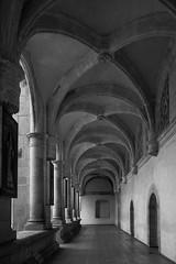 Penumbra (Gabriel A. Ramrez) Tags: oaxaca arquitectura construccin blanco y negro penumbra mxico convento santo domingo de guzman xvi siglo