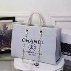 Chanel-Deauville-tote-Treschicshop (5) (TresChicShop.com) Tags: chanel tote handbag
