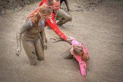falling (stevefge) Tags: berendonck viking strongviking mud nederland netherlands nederlandvandaag people candid sport slippery girls endurance reflectyourworld