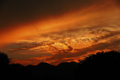 Sunset #10 (daniel0027) Tags: mountainridge redsky phenomenal magicalsunset sundown clouds mothernature