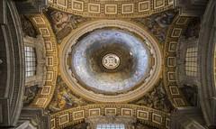 Domes (noname_clark) Tags: italy rome vacation honeymoon vatican basilica dome art