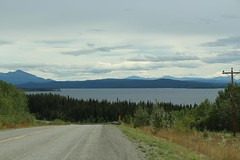 Yukon Highway 1 (demeeschter) Tags: canada yukon territory highway landscape scenery lake mountains road forest nature