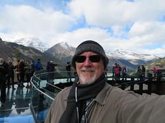 2016-100245F (bubbahop) Tags: 2016 canadatrip jasper national park alberta canada glacier skywalk sunwapta valley bubbahop hat scarf goatee jacket