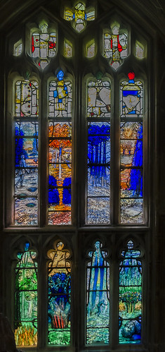 Gloucester Cathedral, finzi window
