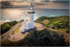 Cape Byron Lighthouse (Aerial View 1) (VanderImages) Tags: capebyron byronbay nsw australia landscape lighthouse aerial djiphantom4