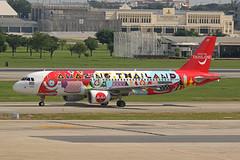 Thai AirAsia   A320-216   HS-ABD (Globespotter) Tags: bangkokdon muang thai airasia a320216 hsabd amazingthailand livery