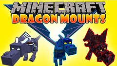 Dragon Mounts Mod 1.10.2/1.7.10 (MinhStyle) Tags: minecraft game online video games gaming
