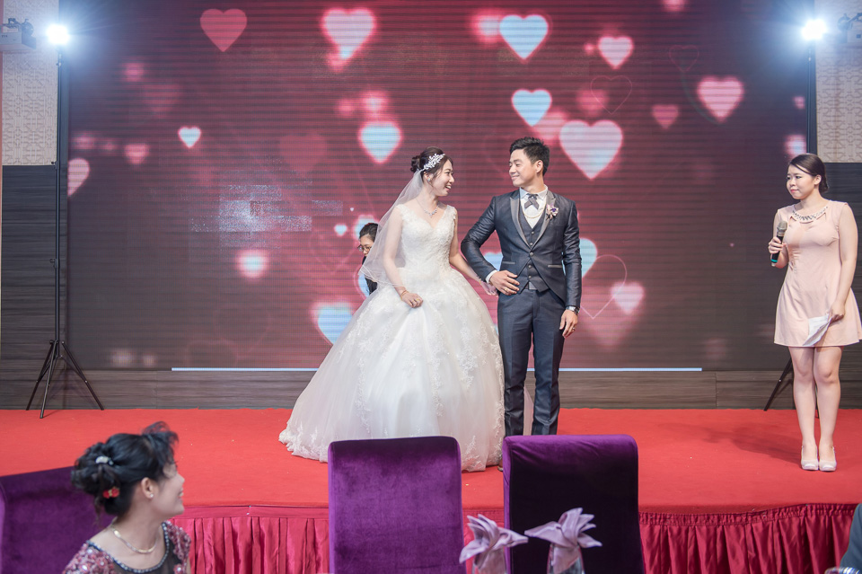 台南婚攝 婚禮紀錄 情定婚宴城堡 C & M 131