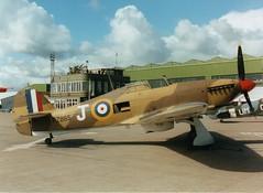 BBMF PZ 865 (Gerry Rudman) Tags: hawker hurricane iic pz865 raf bbmf leuchars fife watch tower control