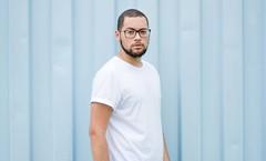 _CLE9120-Editar (Cleison Silva) Tags: boy modelo barba oculos indie azul sopaulo barueri urbano art retrato