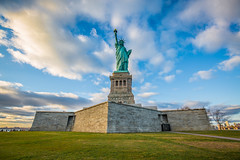 Standing Tall (yaznatasha) Tags: newyork nyc newyorkcity usa america canon canon5dmarkiii lightroom outdoors outdoor november winter christmas statueofliberty libertyisland