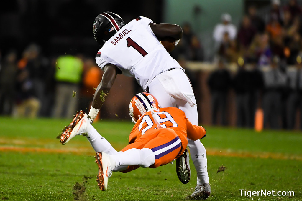 Clemson Photos: Marcus  Edmond, 2016, Football, South  Carolina