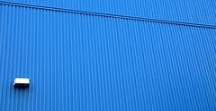 . (SA_Steve) Tags: blue lines wall school minimal less simple statenisland ny nyc minimalism