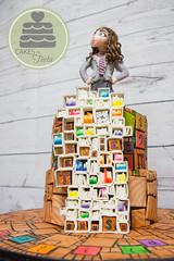 Matilda The Musical Cake (Lisa West Photography) Tags: matilda musical matildathemusical matildainoz matildabway matildawormwood cake cakedecorating caketoppers caketopper musicaltheatrecake musicaltheatre fondant gumpaste sculpture modellingchocolate
