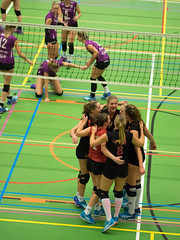 1B260676 (roel.ubels) Tags: vv utrecht eurosped galgewaard volleybal volleyball 18 finale nationale beker