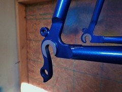 Paragon Dropouts (Capricorn Bicycles) Tags: handmade custom steel bike bicycle frame lugged lugs house kolor paint retro paragon machine works road