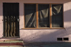 Three two one (ADMurr) Tags: la late afternoon sun screen windows door steps leica m digital