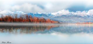 Massif des Aravis en Haute-Savoie