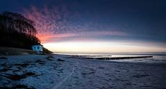the beach (ddaugenblick) Tags: ostsee baltic sea strand beach blaue stunde blue hour