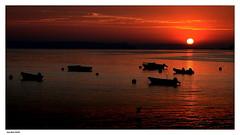 Crpuscule..... (crozgat29) Tags: jmfaure crozgat29 canon sigma sea seascape sunset nature mer paysage ciel crpuscule sky sun soleil