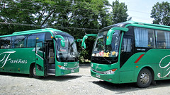 Going Green (II-cocoy22-II) Tags: city bus 26 baguio 37 trans laoag philipines farinas fariñas