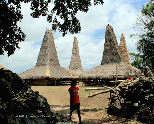 Ratenggaro village - Sumba island