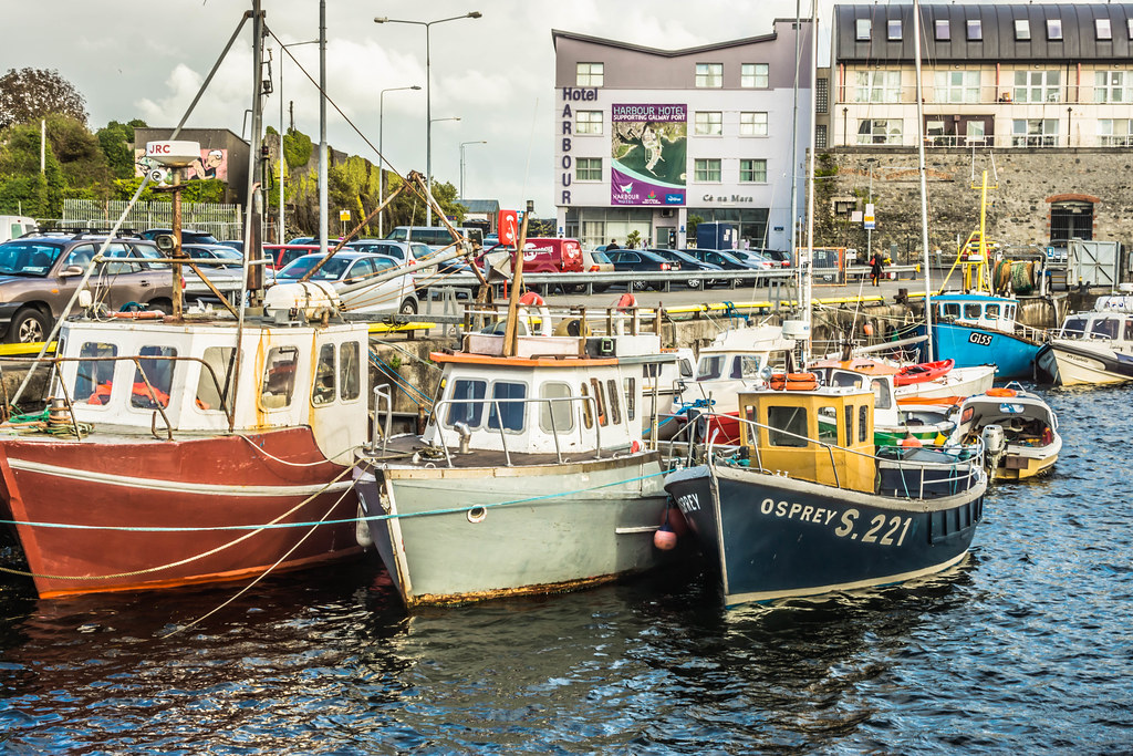 GALWAY HARBOUR AND DOCKLANDS [AUGUST 2015] REF-107530