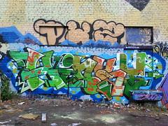 Pispala repainted (Thomas_Chrome) Tags: street streetart art suomi finland graffiti europe gallery fame can spray nordic walls tampere pispala