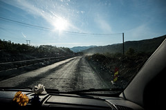 unquiet (Mange J) Tags: sky cloud mountain norway amazing slow view bottom clear scenary roadwork roadblock patience dirtywindow oppland maintance fotosondag fs150913 norge2015 otyst