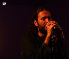 Orphaned Land - Kobi Farhi (The Crow2) Tags: music london metal concert stjohns panasonic acoustic oriental koncert bethnalgreen zene 2015 orphanedland akusztikus thecrow2 dmctz6