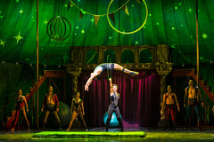 The company of the national tour of PIPPIN presented by Broadway Sacramento at the Sacramento Community Center Theater Dec. 29, 2015 – Jan. 3, 2016.  Photo by Terry Shapiro.