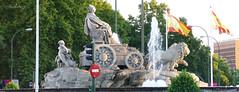 Fuente de la Cibeles (Madrid) (Juan Alcor) Tags: madrid fuente cibeles lacibeles