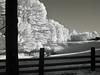 IMG_2592 (Dan Correia) Tags: belchertown infrared shadows fence truck 15fav topv111 topv333 addme500 topv555 addme200