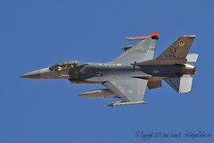 F-16C Viper from the 311 FS (JetImagesOnline) Tags: red fighter force exercise general flag aircraft air jet f16 311 viper usaf base dynamics 154 afb figher nellis aricraft f16c sqaudron