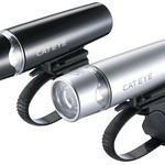 自転車用バッテリーヘッドライトの写真