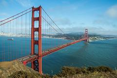 Golden Gate View - Vista Point - Sausalito - California - 16 May 2015 (goatlockerguns) Tags: sanfrancisco california park county usa point golden gate view marin unitedstatesofamerica national area bayarea headlands vista recreation sausalito
