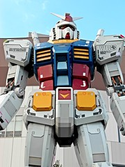 Tokyo Toy Trip – Odaiba (お台場) – 18 Meter Gundam Statue – 6 Oct 2015 – 2 (My Toy Museum) Tags: life trip toy tokyo size odaiba gundam lifesize 2015