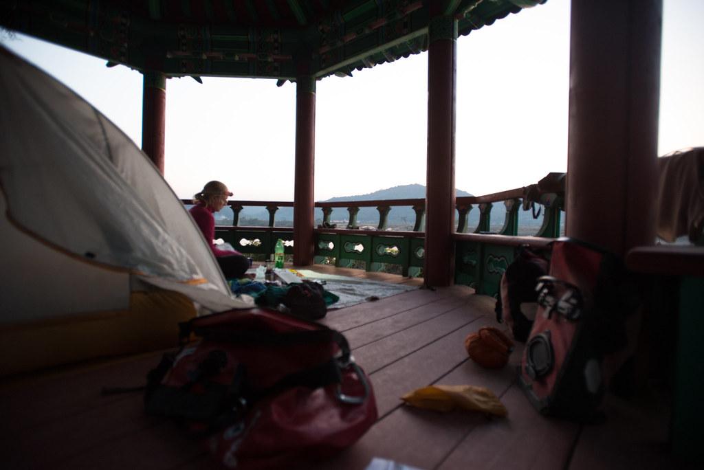 Gazebo campsite