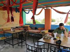 "Jaisalmer: toit de notre hôtel <a style=""margin-left:10px; font-size:0.8em;"" href=""http://www.flickr.com/photos/127723101@N04/22203836419/"" target=""_blank"">@flickr</a>"