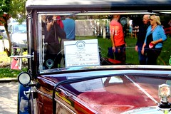 A sneaky selfie (tiger289 (The d'Arcy dog supporters club)) Tags: park flowers trees sea plants plant tree cars beach dogs car architecture garden landscape fun outdoors woods heraldry waves estate westsussex fairground outdoor events parties clocktower vehicle greenbelt morris functions oldcars boules vintagecars plaques eastpreston clockhouse villagelife villagegreen breakwaters austin7 carshows veterancars sealane villagefestival searoad penangvillagerestaurant