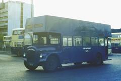 Slide 037-77 (Steve Guess) Tags: uk blue england bus open top cream topless gb westmidlands topper wmpte damiler wmpta