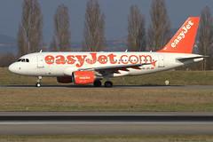 AIRBUS A319 111 EASYJET HB-JZL 2353 Bale Mulhouse 23 mars 2015 (paulschaller67) Tags: mars airbus 111 23 bale easyjet mulhouse a319 2015 2353 hbjzl