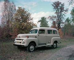 1952 Ford F-1 Panel Truck 4x4 Hunting Conversion (biglinc71) Tags: ford truck panel conversion 4x4 hunting f1 1952