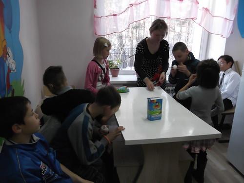 """Занятие 06.11.2015 с волонтерами """"Гефэрдетенхильфе Шайдевег"""""""