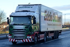 Stobart L7705 PE14 FVY Sheran Ann A1058 Wallsend 26/11/15 (CraigPatrick24) Tags: road truck fridge cab transport lorry delivery vehicle trailer scania logistics wallsend coastroad stobart eddiestobart a1058 stobartgroup scaniag410 a1058wallsend stobartfridge l7705 pe14fvy coastroadwallsend sheranann