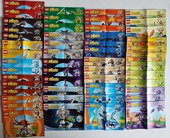 Lego Mixels Building manuals (Paranoid from suffolk) Tags: building paper instructions manual pamphlets 2015 booklets mixels