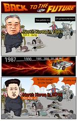Back to the Future (andreachacha88) Tags: kimjongil backtothefuture northkorea dprk kimilsung kimjongun
