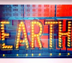 ***EARTH*** (JasonLee) Tags: nyc newyorkcity streetart newyork earth lightbulbs windowdisplay burnedout planetearth nameinlights inlights savetheworld earthlings climateconference