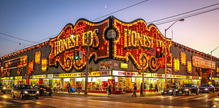 Honest Ed's located on Bathurst and Bloor in Toronto